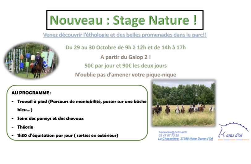 stage nature